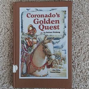 Coronado's Golden Quest Book